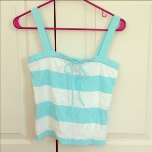Blue and white tank- special order for KO